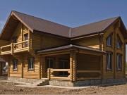 Деревянный дом из оцилиндрованного бревна «Онега»
