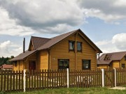 Деревянный дом из оцилиндрованного бревна «Причал-1»