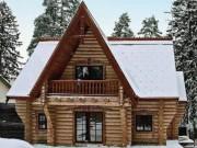 Деревянный дом из оцилиндрованного бревна «Сказка»