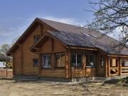 Деревянный дом из оцилиндрованного бревна «Русь»