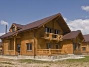 Деревянный дом из оцилиндрованного бревна «Бриз»