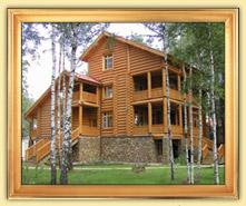Деревянные дома и срубы из оцилиндрованного бревна, бруса. Общая площадь от 301 м2