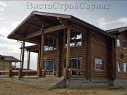 Деревянный дом из оцилиндрованного бревна «Бор-2»