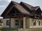 Деревянный дом из оцилиндрованного бревна «К-1»
