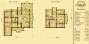 Деревянный дом из оцилиндрованного бревна «Монплизир - 1»