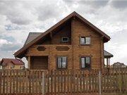 Деревянный дом из оцилиндрованного бревна «Норд»