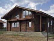Деревянный дом из оцилиндрованного бревна «Светлый-2»