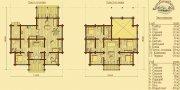 Деревянный дом из оцилиндрованного бревна «Светлый-3»
