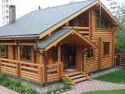 Деревянный дом из оцилиндрованного бревна «Звездный»